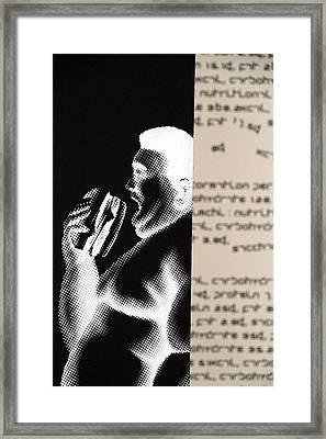 Obesity Framed Print by Valentino Visentini
