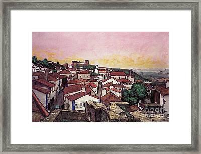 Obidos Framed Print by Sarah Loft