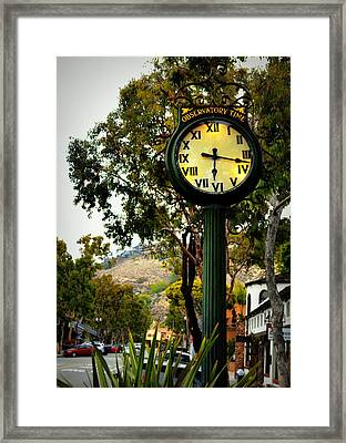 Observatory Time Framed Print by Glenn McCarthy Art and Photography