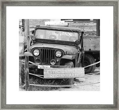 Obsolete Framed Print by Carlos Amaro
