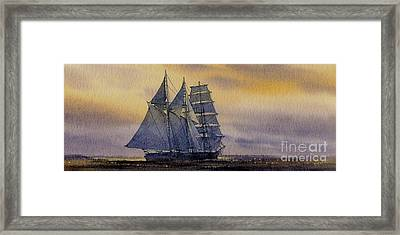 Ocean Dawn Framed Print by James Williamson