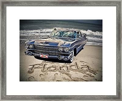Ocean Drive Framed Print by Joachim G Pinkawa