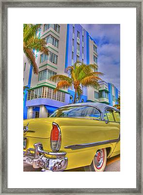 Ocean Drive Framed Print by William Wetmore