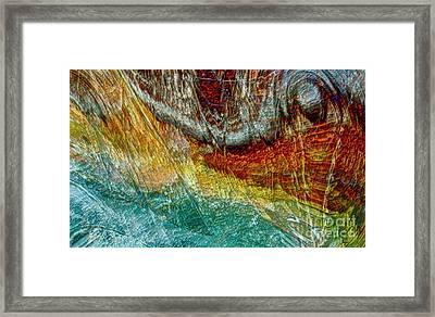 Ocean Escape Framed Print by Gwyn Newcombe
