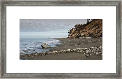Ocean Front View Framed Print by Chad Davis