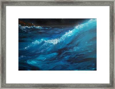 Ocean II Framed Print by Patricia Motley