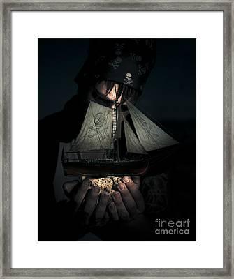 Ocean Treasure Framed Print by Jorgo Photography - Wall Art Gallery
