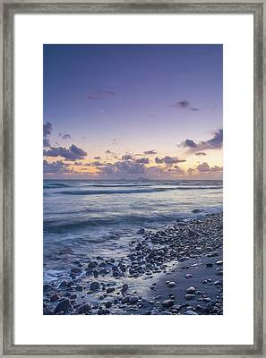 Ocean View Framed Print by Anthony Mitchell