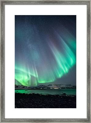 Ocean View Framed Print by Tor-Ivar Naess
