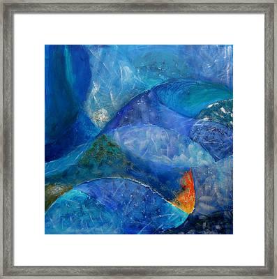 Ocean's Lullaby Framed Print by Aliza Souleyeva-Alexander