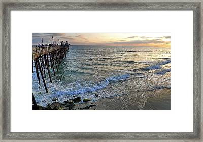 Oceanside Framed Print by Skip Hunt
