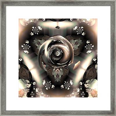 Ocf 391 The Fragrance Of Thought Framed Print by Claude McCoy