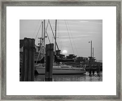 Ocracoke Sunset  Framed Print by Randy Edwards