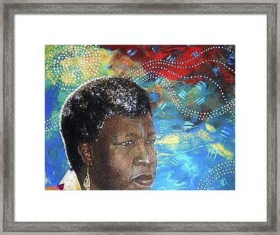 Octaviascape Framed Print by Candace Hunter