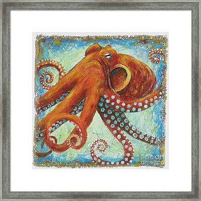Octo Framed Print by Danielle Perry