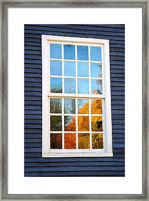 October Reflections 4 Framed Print by Edward Sobuta