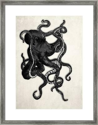Octopus Framed Print by Nicklas Gustafsson