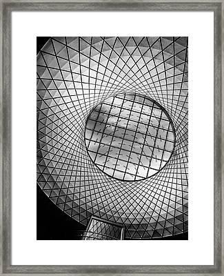 Oculus Light Framed Print by Jessica Jenney