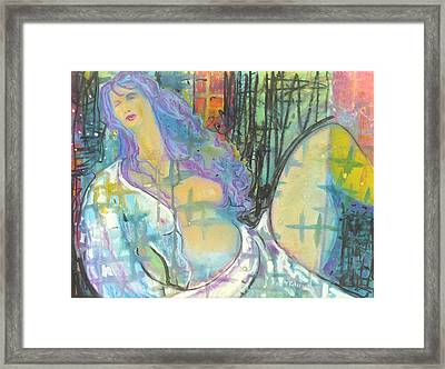 Odalisque Framed Print by Todd  Peterson