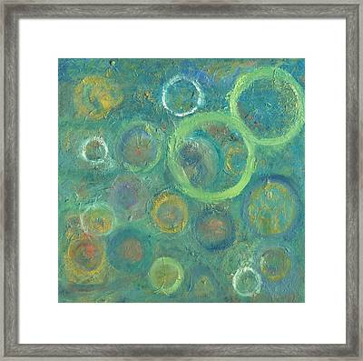 Ode To Infinity Framed Print by Marla McPherson