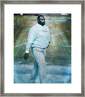 Odell Haggins Fsu Seminoles Framed Print by Paul Wilford