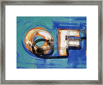 OF Framed Print by David Gianfredi
