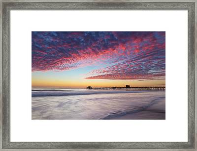 Of Milk Shakes And Cotton Candy Framed Print by Peter Tellone
