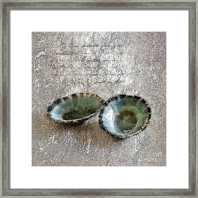 Of The Sea 2 Framed Print by Betty LaRue