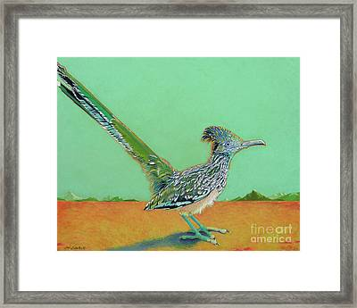 Of Two Minds Framed Print by Tracy L Teeter