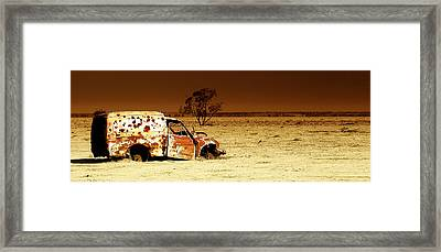 Off Road Framed Print by Holly Kempe