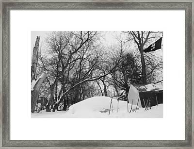 Off The River Framed Print by Allison Slessor