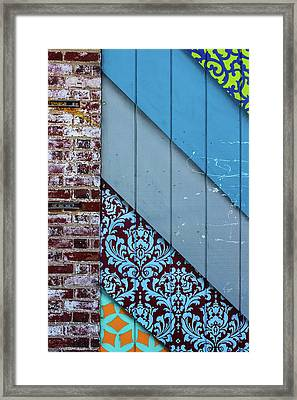 Off The Wall Framed Print by Colleen Kammerer