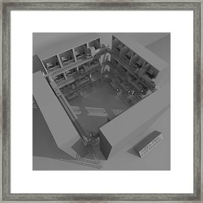 Office Nine Framed Print by Rolf Bertram