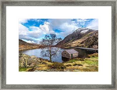 Ogwen Lake Framed Print by Adrian Evans
