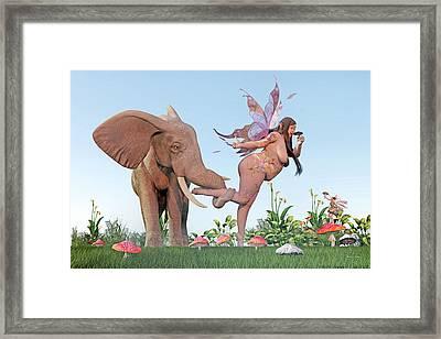 Oh Alice Framed Print by Betsy Knapp