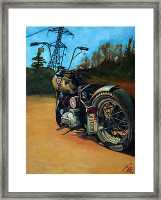 Oh Hell Yea Framed Print by George Frizzell