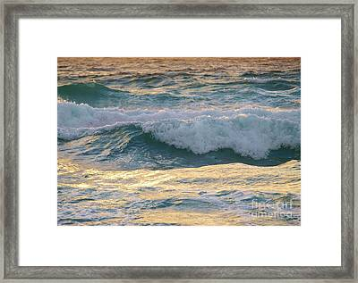 Oh  Majestic Ocean Framed Print by E Luiza Picciano