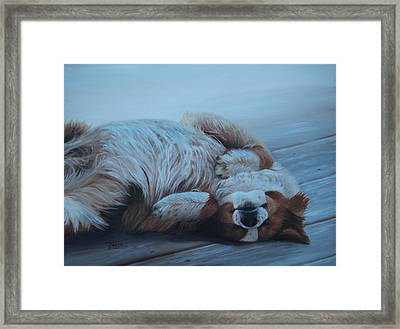 Oh Sweet Sleep Framed Print by Tammy Taylor
