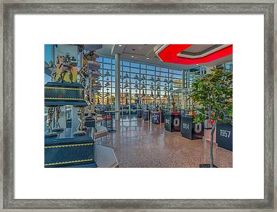Ohio State Football Bowl Game Trophy Collection Framed Print by Scott McGuire