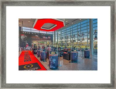 Ohio State Football Trophy Collection Heismans Framed Print by Scott McGuire