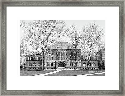 Ohio State University Hayes Hall Framed Print by University Icons