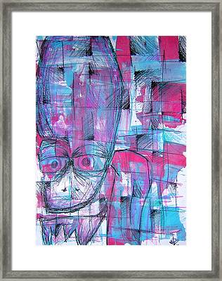 Ojo Framed Print by Jera Sky
