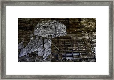 Oklahoma Decay Framed Print by David Longstreath