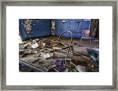 Oklahoma Lost School Framed Print by David Longstreath