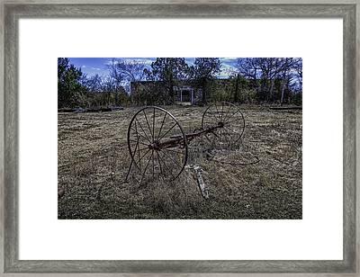Oklahoma Rural Landscape 1 Framed Print by David Longstreath
