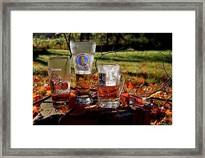 Oktoberfest Ist Wunderbar Framed Print by Hanne Lore Koehler