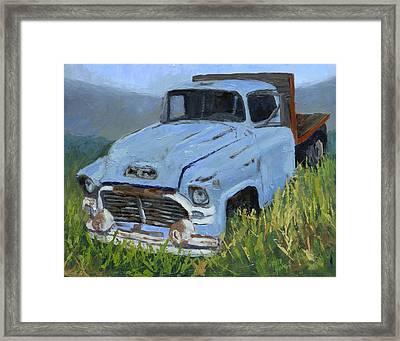 Ol' Blue Framed Print by David King