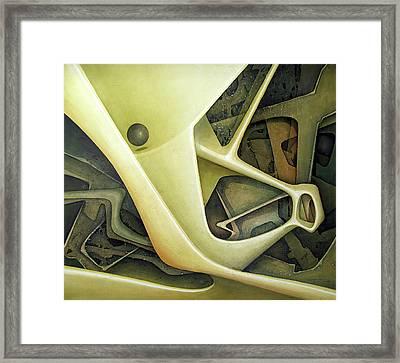 Ol1962dc001 Micro Cosmos 48x58 Framed Print by Alfredo Da Silva