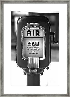 Old Air Pump Framed Print by Arni Katz