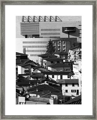 Old And New Framed Print by Alan Todd